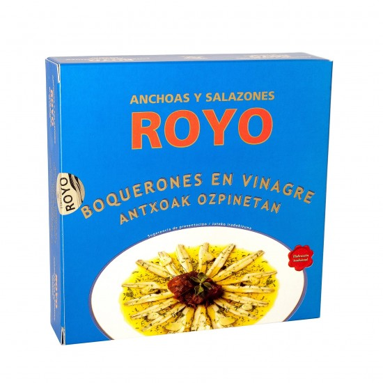 Anchovies in Vinegar ROYO - Drum-shaped Tin