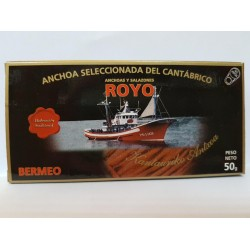 Anchovies ROYO - Eighth Small