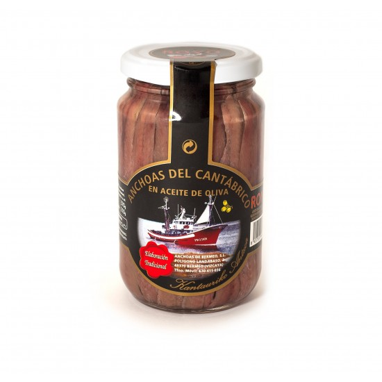 Anchovies ROYO - Medium Glass Jar