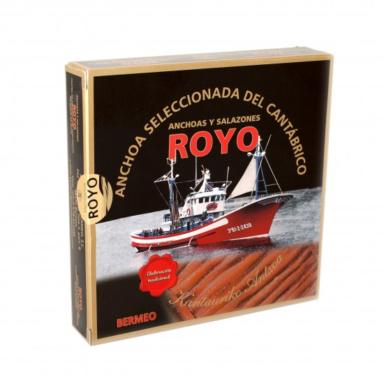 Anchovies ROYO - Small Drum-shaped Tin