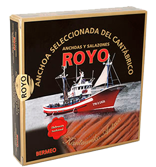Anchoas de Bermeo, Anchoas Royo